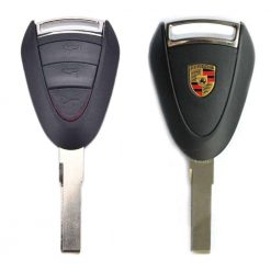 Porsche 3 button remote car key fob casing